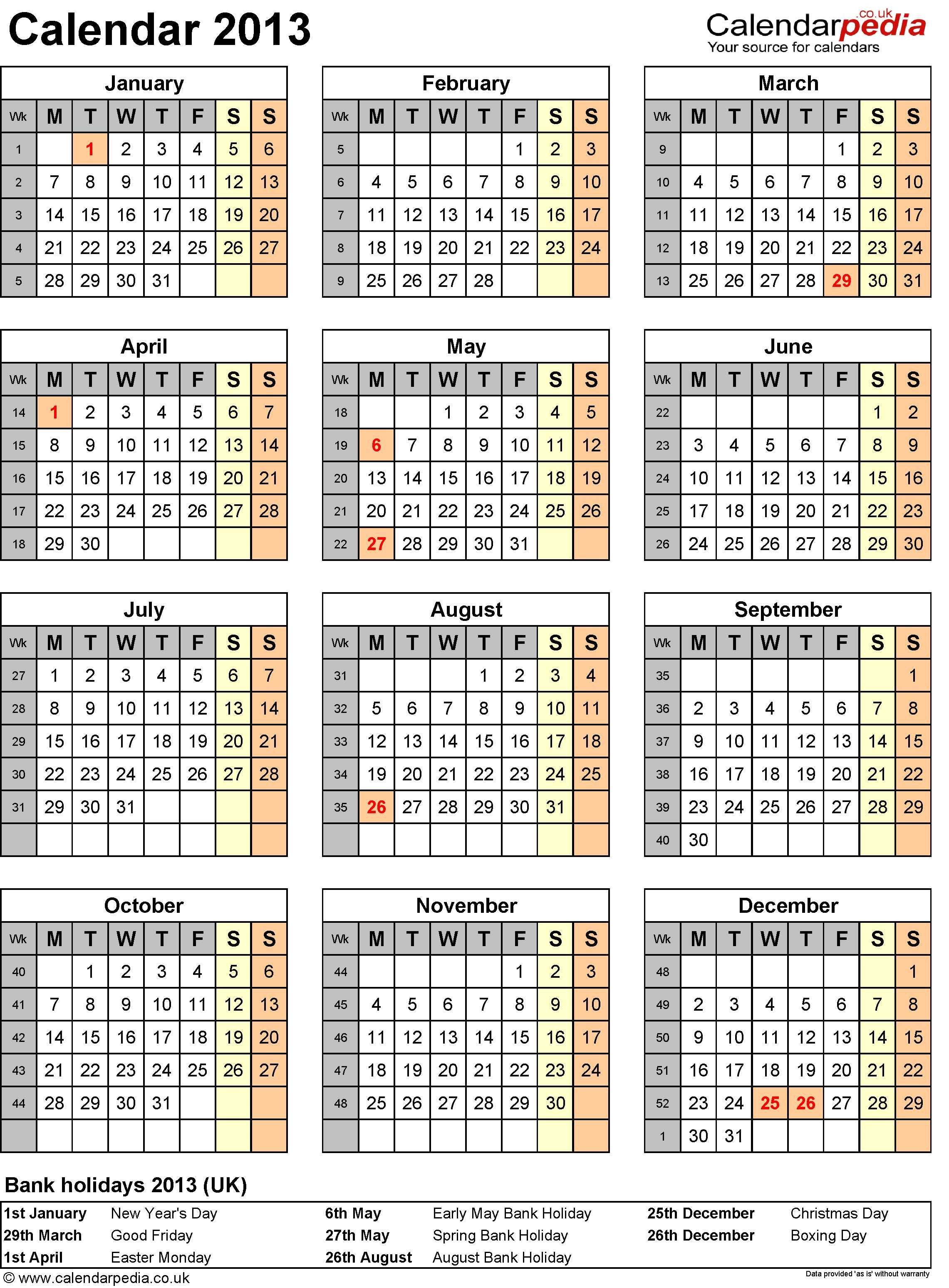 Blank Calendar Without Numbers : Best images of week calendar printable