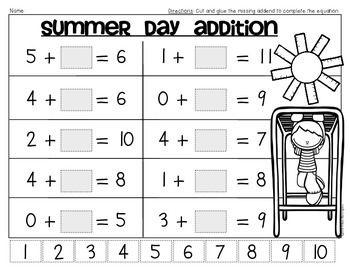 Online kindergarten homework