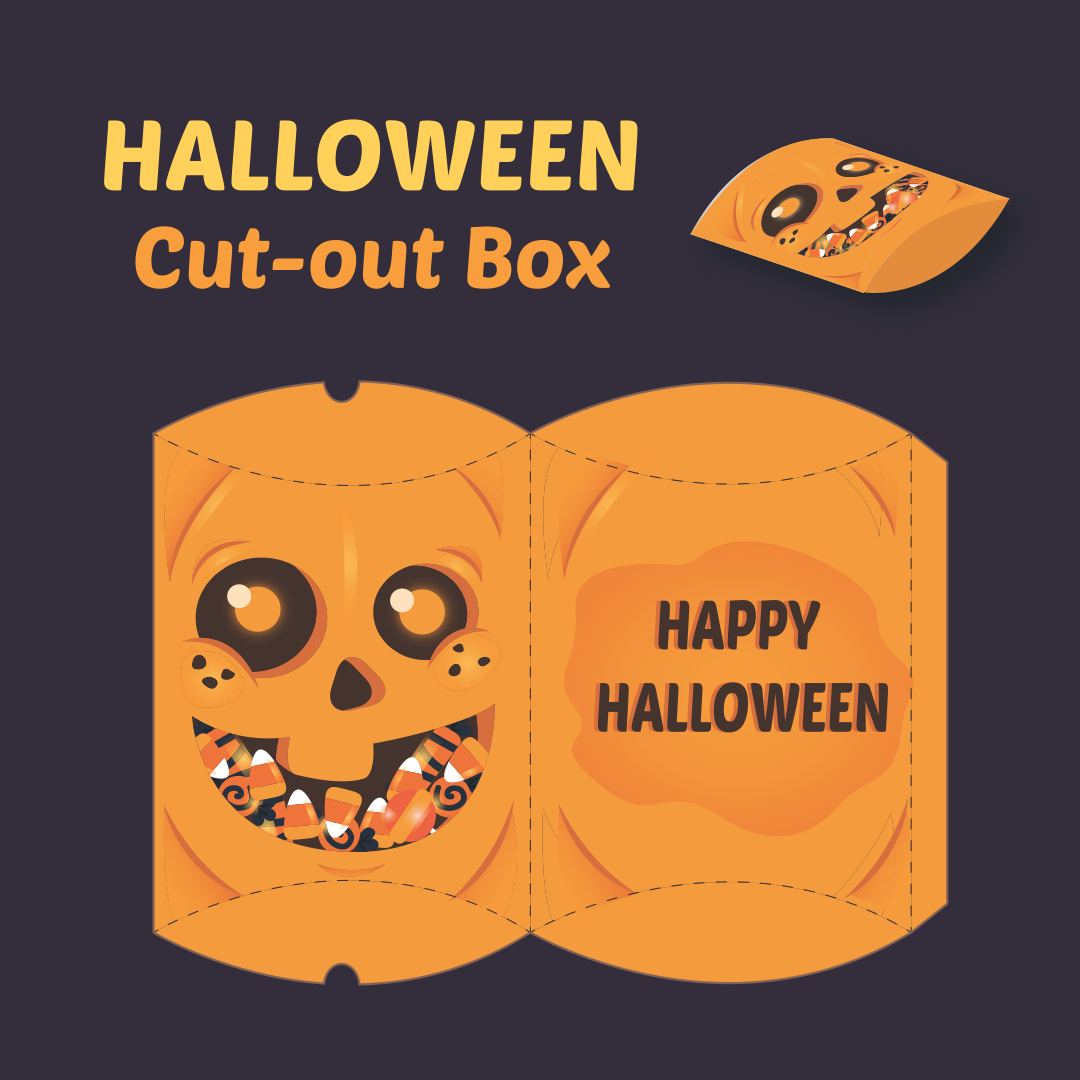 8 Images of 3D Paper Crafts Halloween Printable