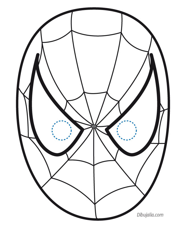 coloring pages spiderman masks - photo#6
