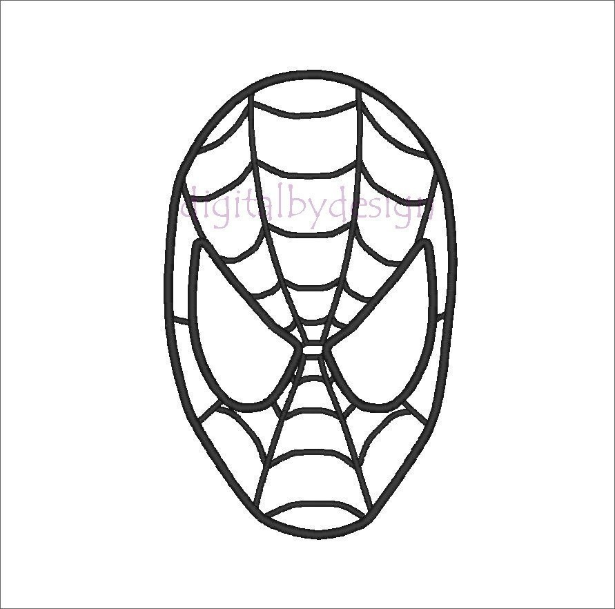 7 Best Images Of Spider Man Mask Printable Template