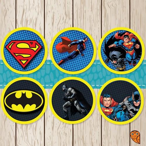 Superman vs Batman Printables