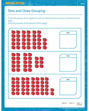 Place Value Worksheets » Place Value Worksheets 1st Grade - Free ...