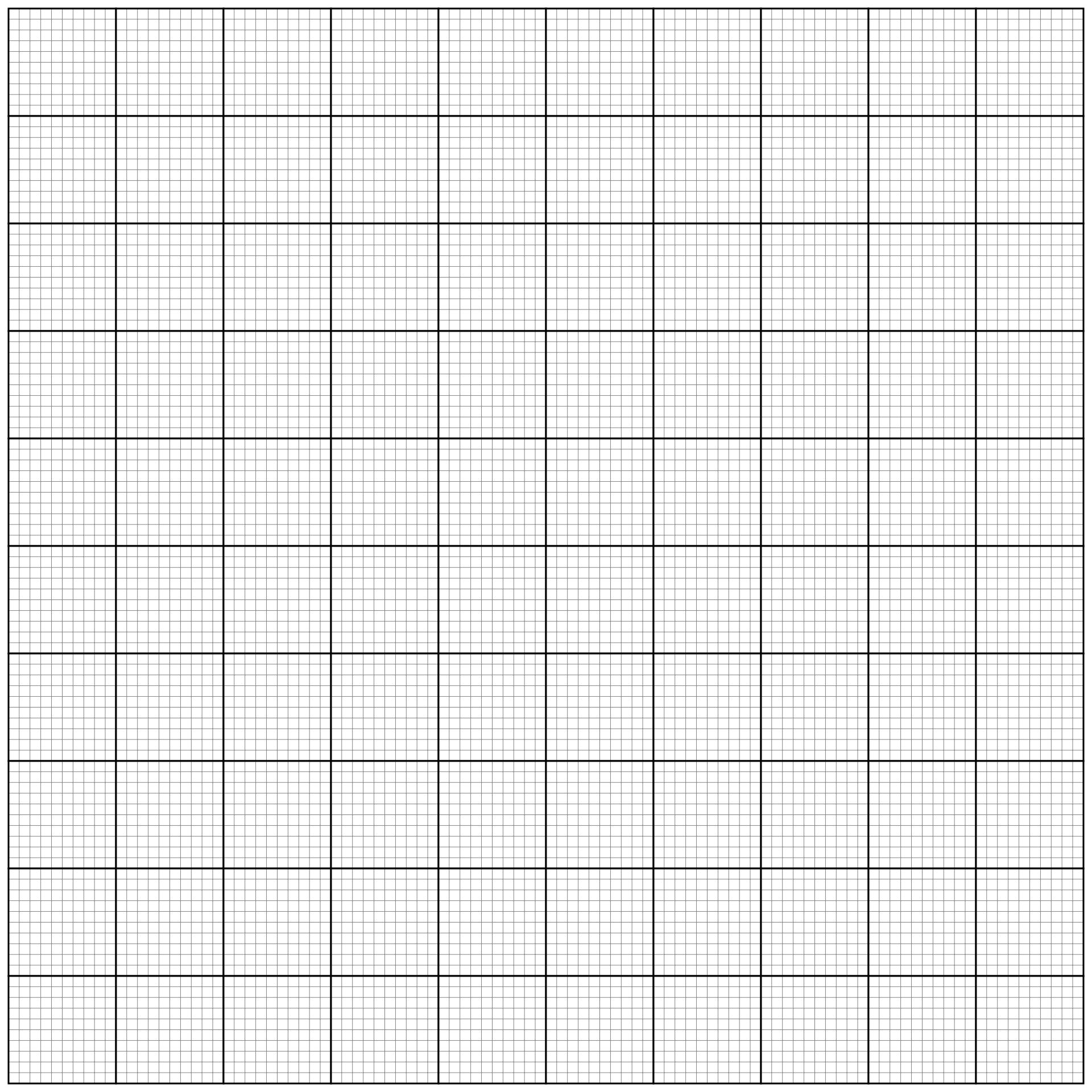 5 Best Images Of 100 Grid Paper Printable Grid With 100