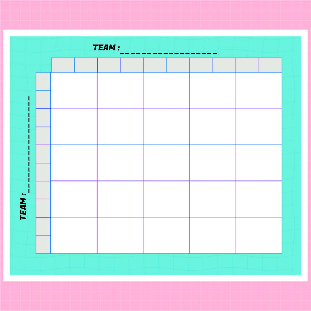 6 Images of Printable 25 Square Football Pool Grid