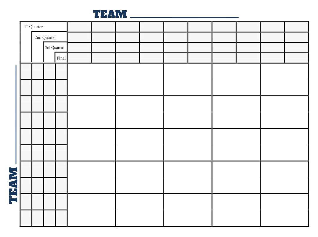 6 best images of printable 25 square football pool grid for Block pool template
