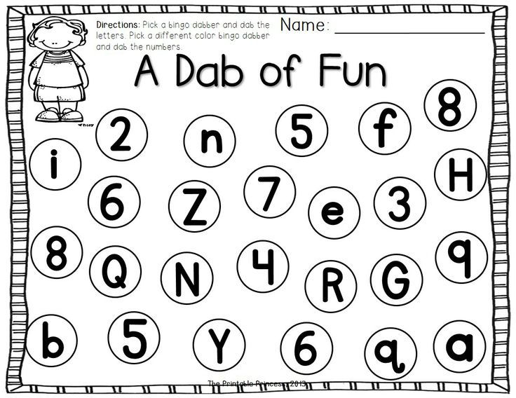 Dauber Coloring Sheets Printable