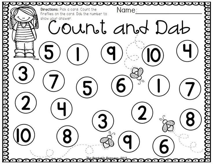 Bingo Dauber Worksheets - Imatei