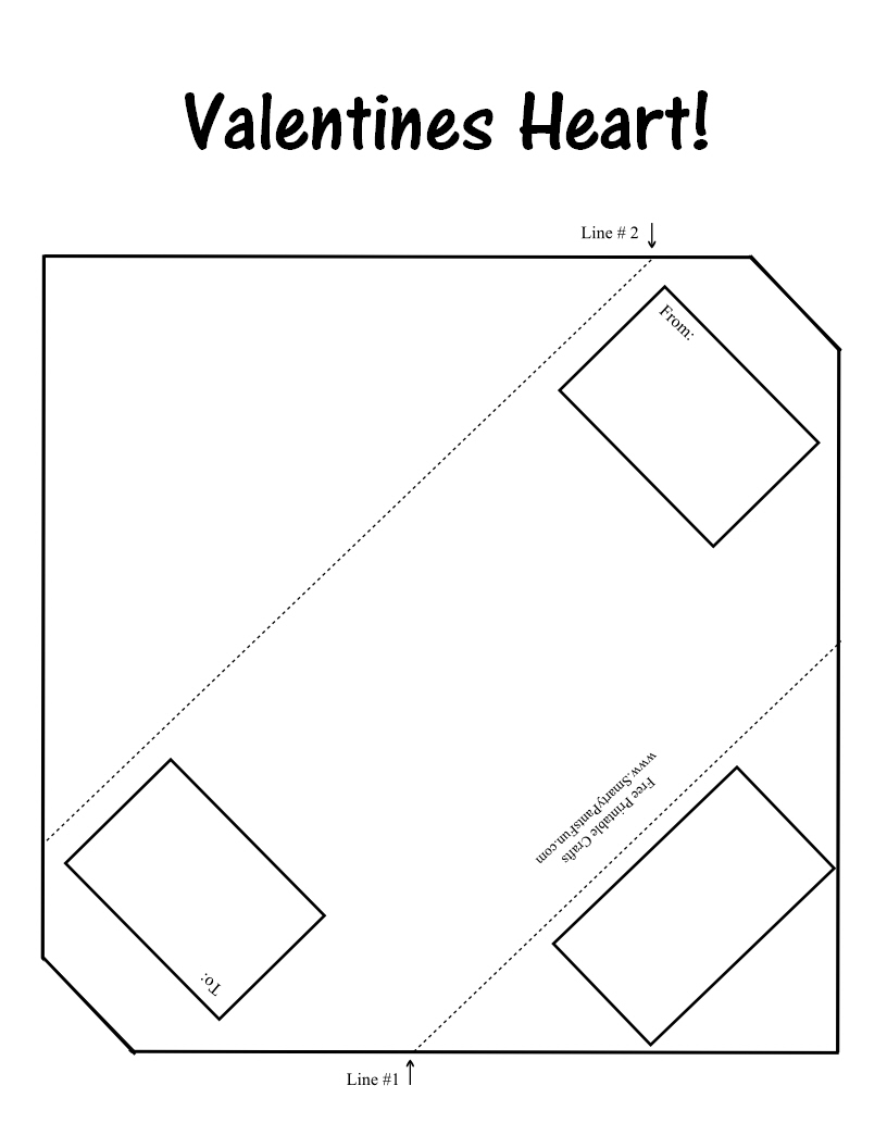 6 Images of Plain Valentine Printable