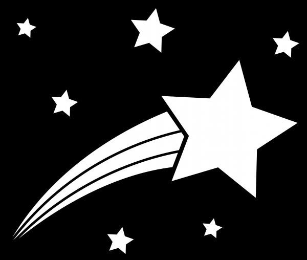 4 Images of Printable Shooting Star
