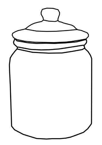 5 Images of Cookie Jar Template Printable
