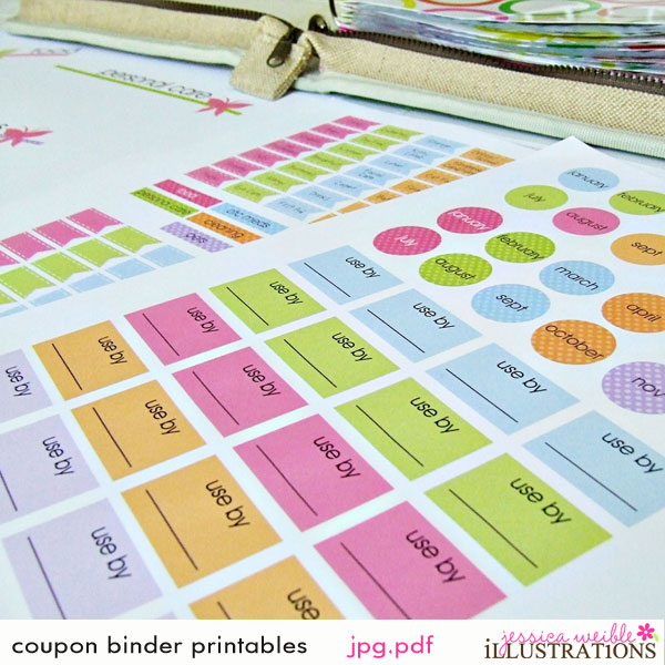 Complete coupon binder system