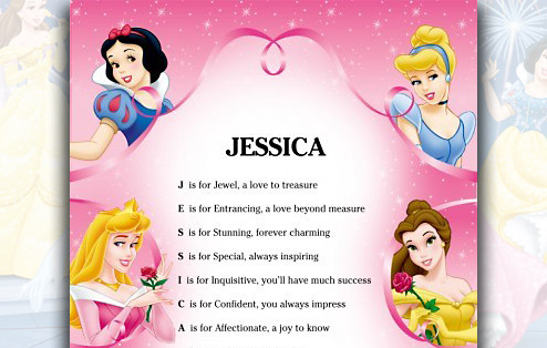 Disney Princess Birthday Poems