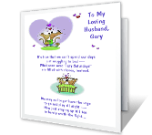6 Images of Free Printable Father Day Card To My Husband
