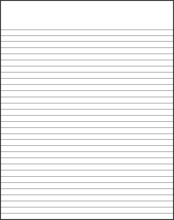 Free Lined Writing Paper Template