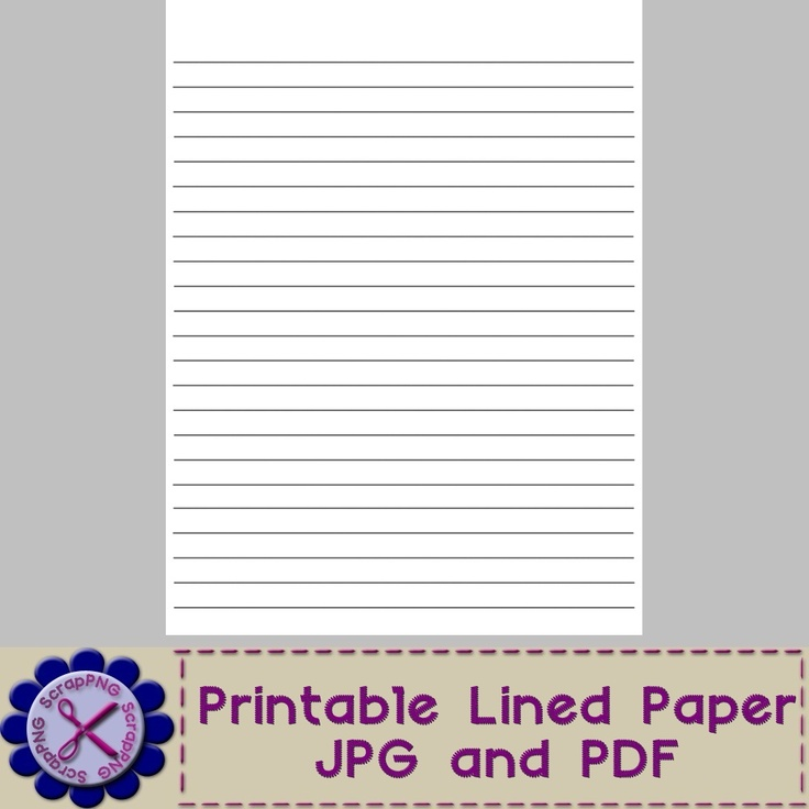 Lined writing paper online – Write on Lined Paper Online