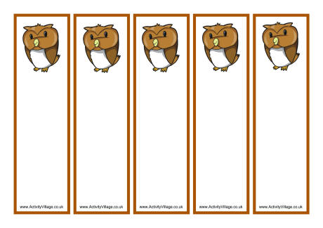 4 Images of Color Your Own Harry Potter Printable Bookmarks