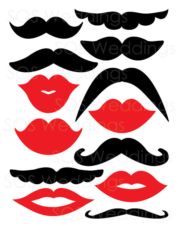See Free Printable Lip Photo Booth Props Lips Template