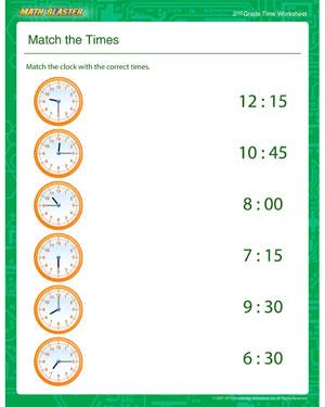 3rd grade telling time worksheets