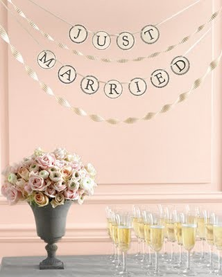 10 Images of Just Married Free Printable Template
