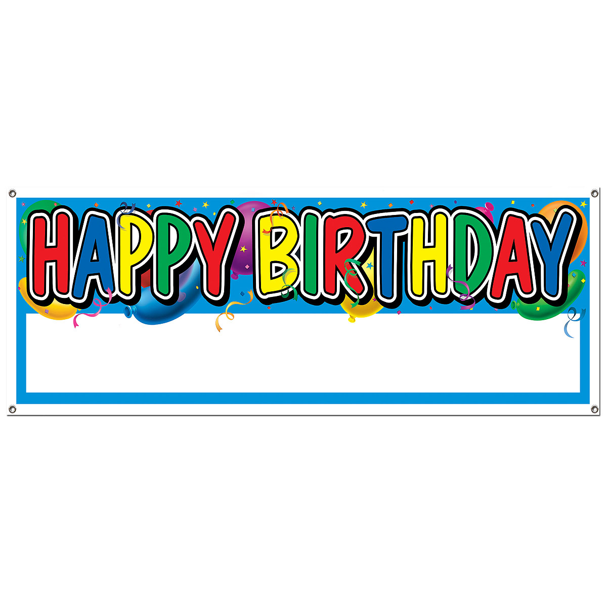 Happy Birthday Banners and Signs