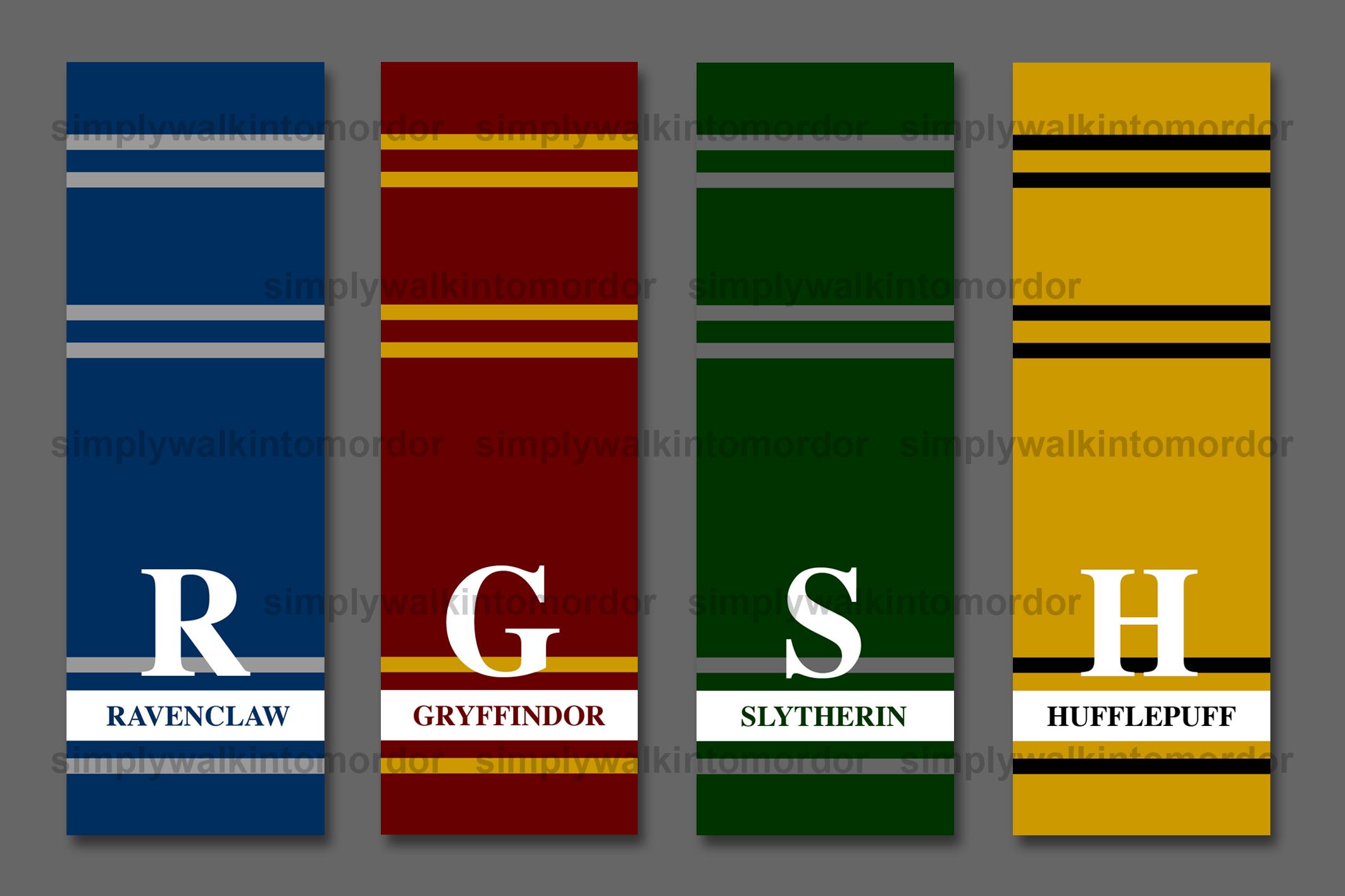 Harry Potter Houses Colors 28 Images Crochet Pattern