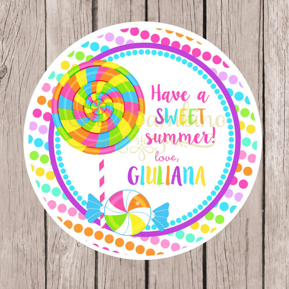 Have a Sweet Summer Printable Tag