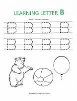 math worksheet : letter b worksheets for preschool  k5 worksheets : Letter B Worksheets For Kindergarten