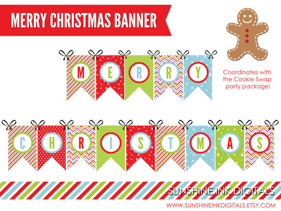 christmas banner coloring pages - photo#33