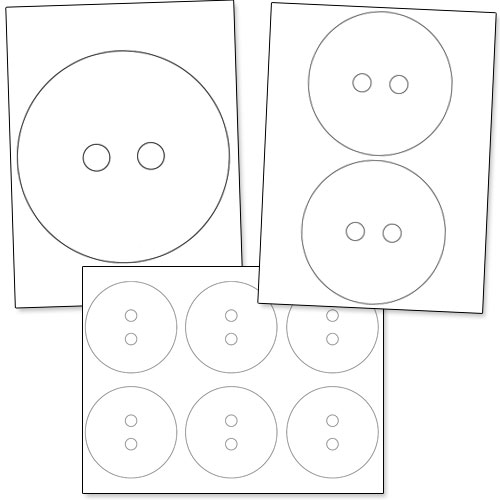 7 Images of Printable Button Template