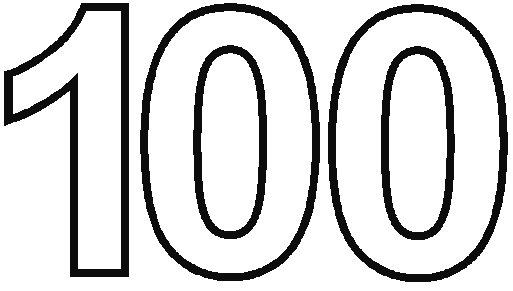 4 Best Images Of Printable 100 Number Coloring Pages
