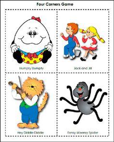 5 Images of Preschool Nursery Rhyme Printables