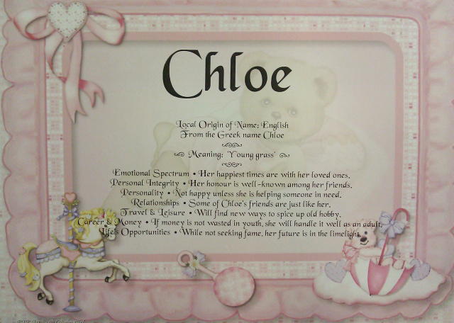 Personalized Baby Name Poems