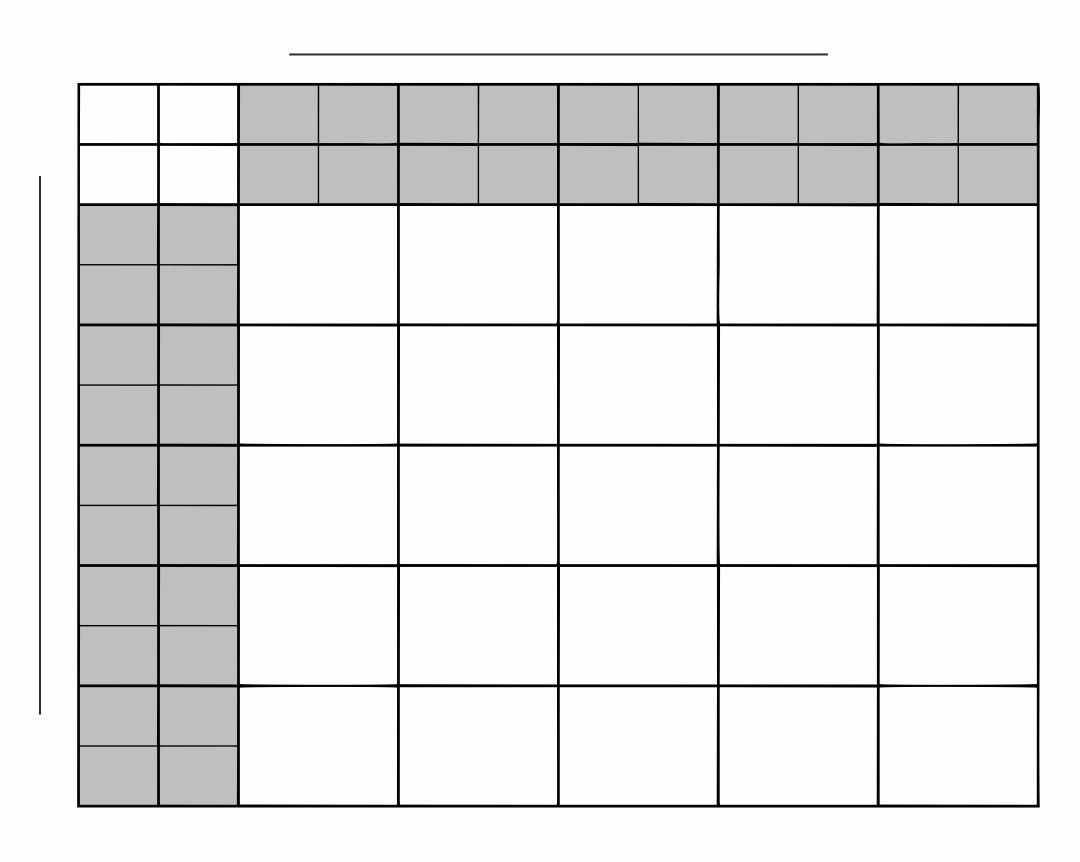Printable 25 Square Football Pool