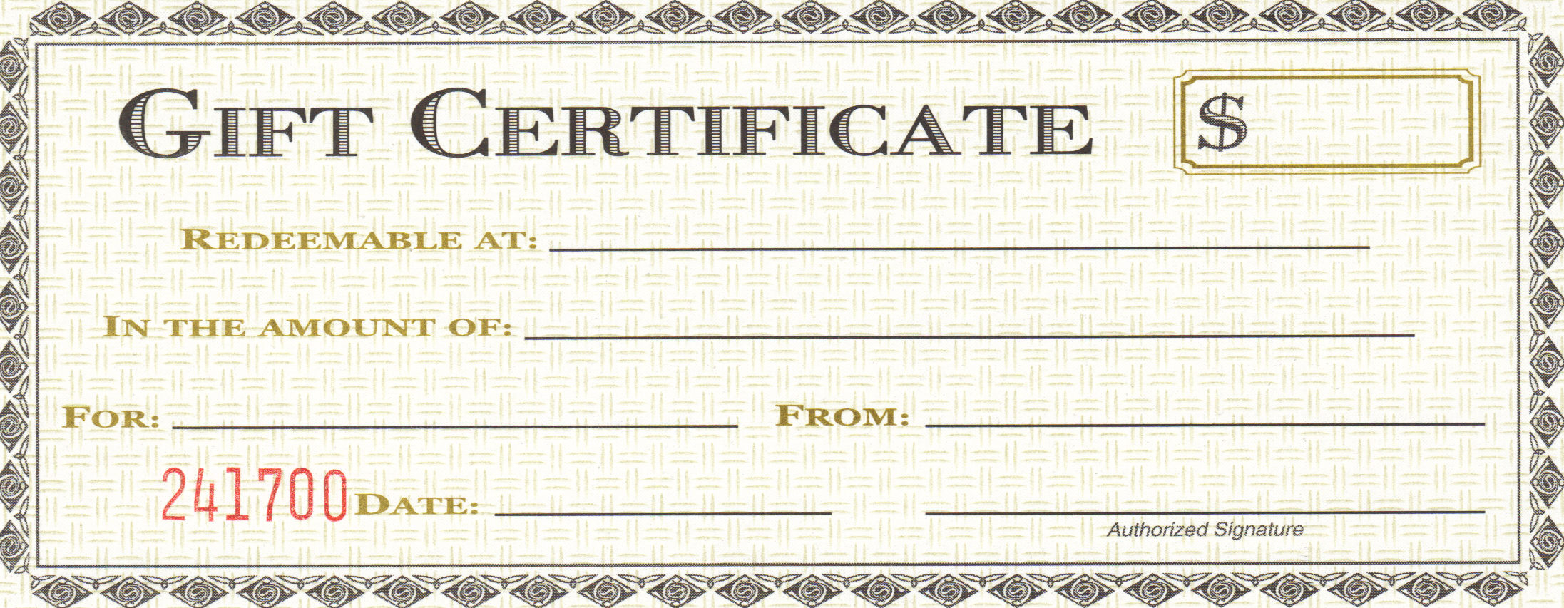 Free Printable Blank Gift Certificate Template - Printable Blank Gift ...