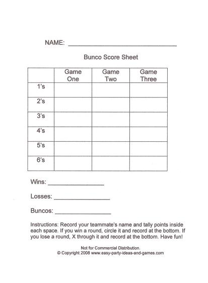 free bunco scorecard template 8 best images of free printable tally sheets euchre