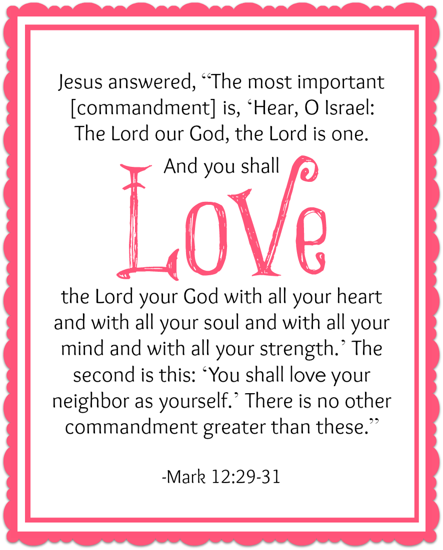 5 Images of God Is Love Printable
