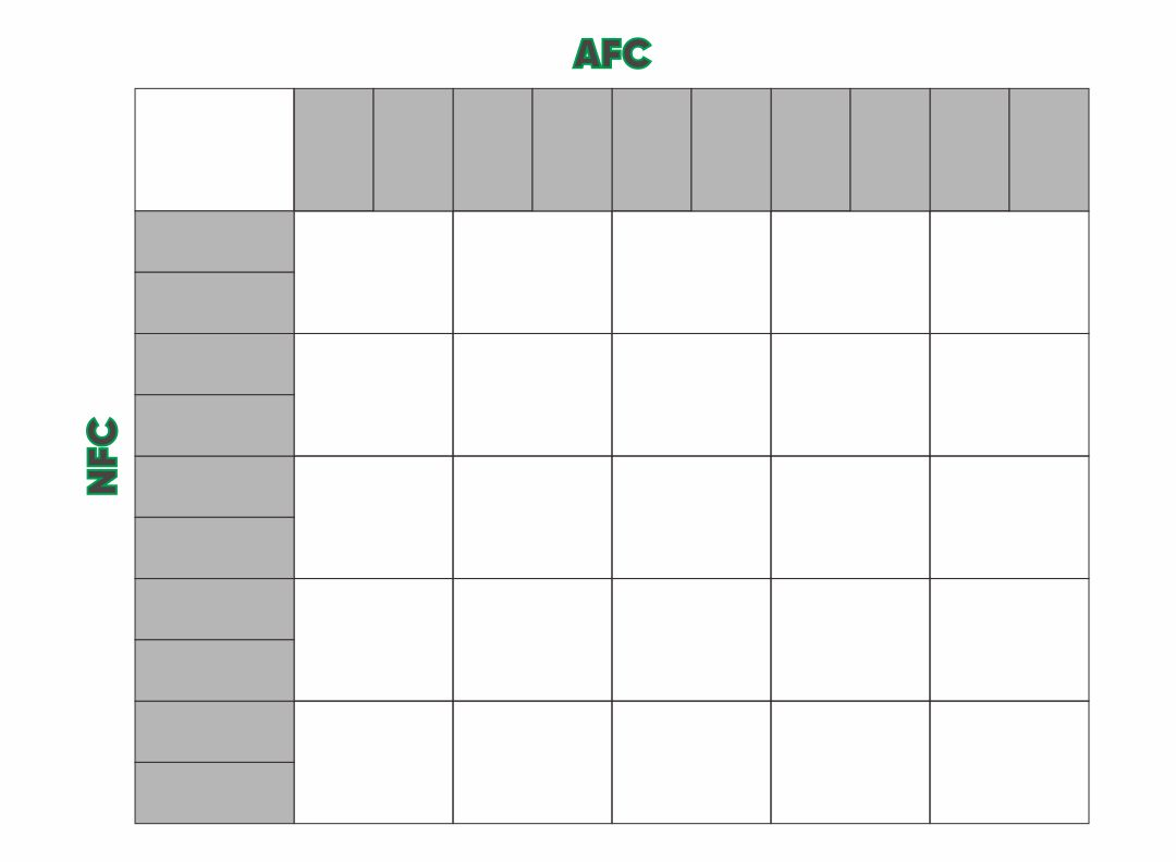 6 best images of printable 25 square football pool grid for Free super bowl pool templates