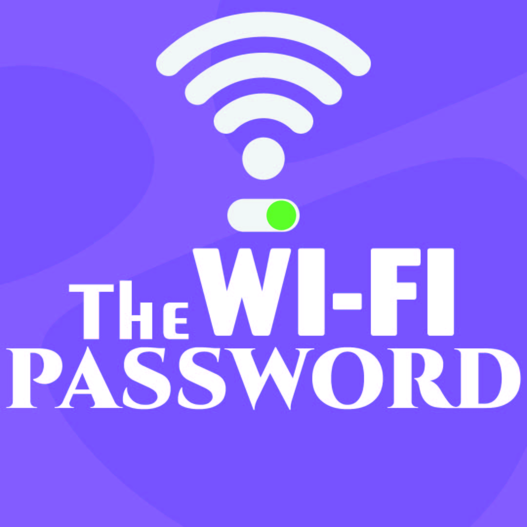 Wi-Fi Password Sign Template