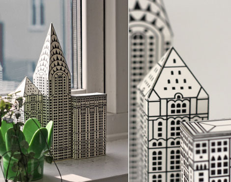 6 Images of Printable Foldable Buildings