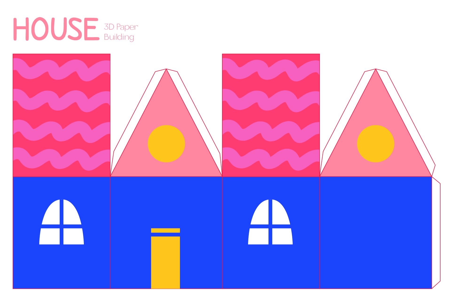 Видео как сделать макет дома из бумаги своими руками схемы