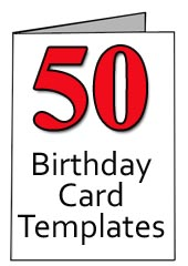 4 Images of Free Printable 50th Birthday Cards