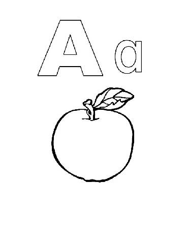 7 best images of preschool printable alphabet coloring for Abc coloring pages for preschoolers