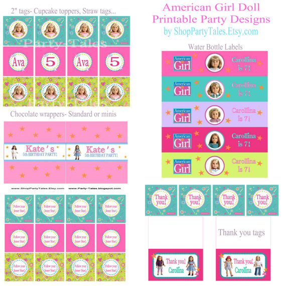 8 Images of American Doll Crafts Printable