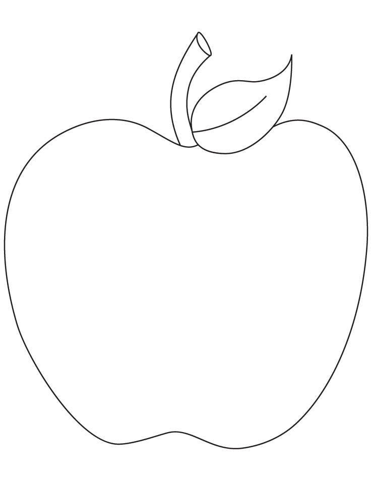 4 Images of Free Printable Apple Patterns