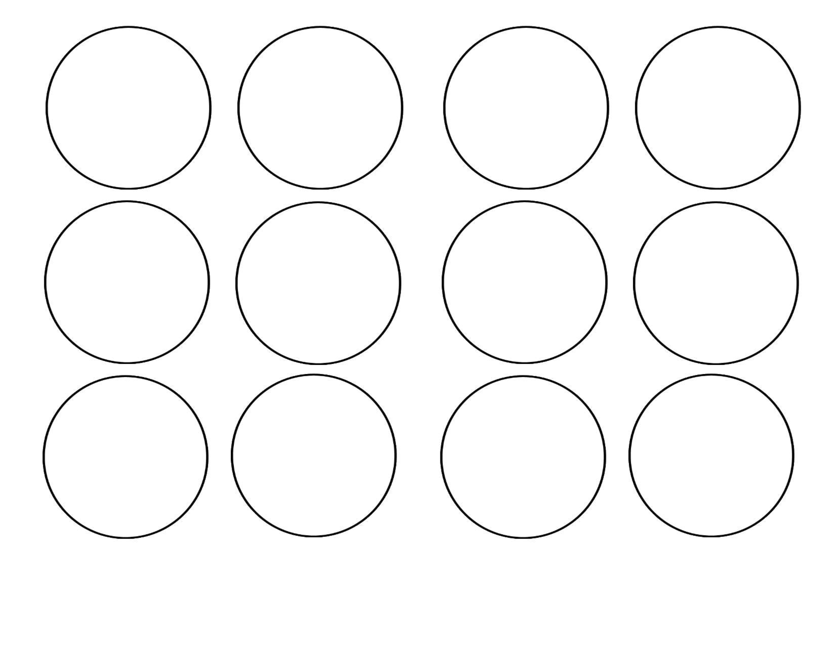 7 Images of Blank Printable Cupcake Toppers Template