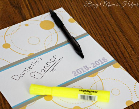 7 Images of Busy Mom Planner Free Printables Cover 2015