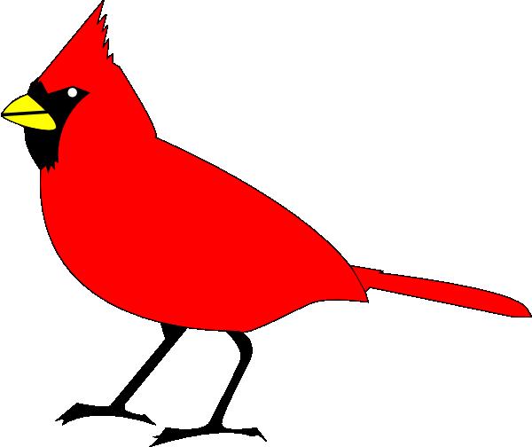 4 Images of Cardinal Bird Clip Art Printable