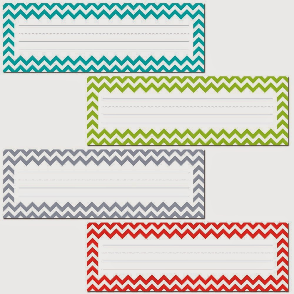 7 Best Images Of Free Printable Chevron Name Plates Free