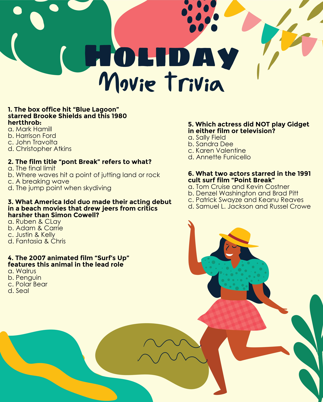 Christmas Vacation Movie Trivia Printable